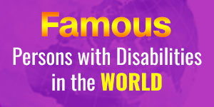 banner for famous disabled people in the world'