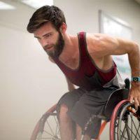 An active wheelchair user.
