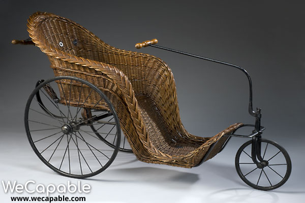 Bath chair designed by James Heath.