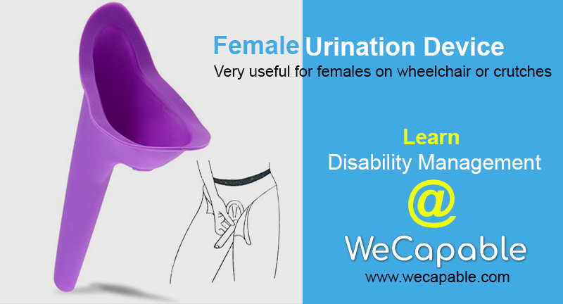 female urination device for disability management