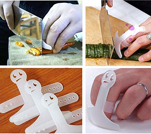 finger cap device guards fingers from accidental cuts