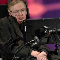 Photograph of Stephen Hawking