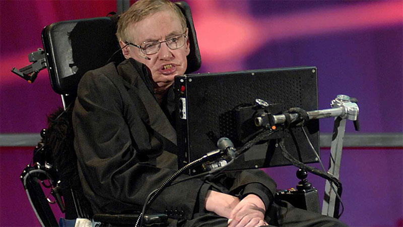 Photograph of Stephen Hawking