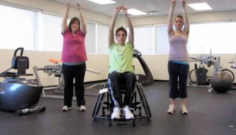 wheelchair exercises, including wheelchair aerobics, are very important for all wheelchair users.
