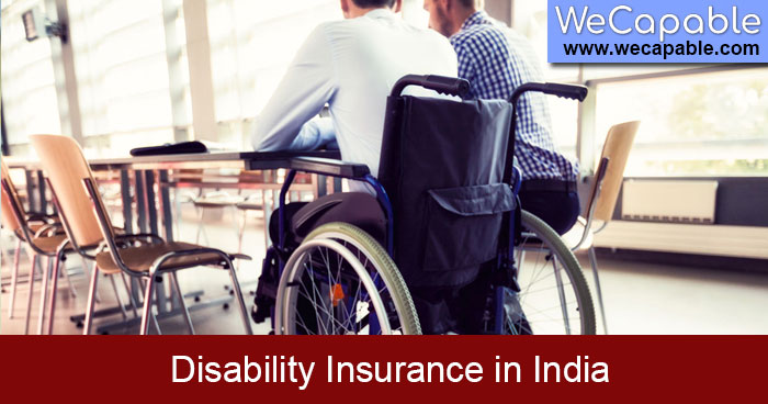 getting disability insurance in india