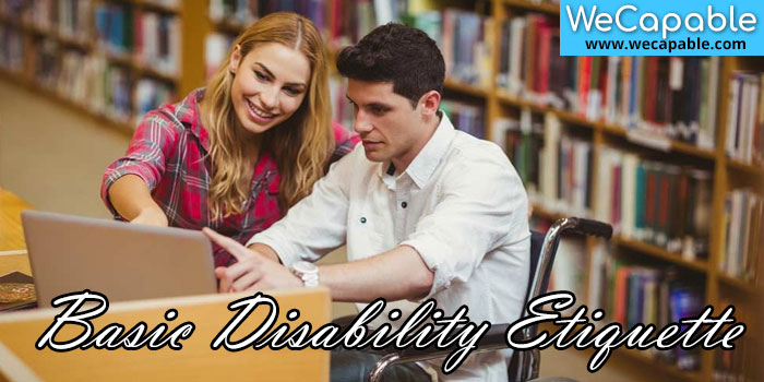 basic disability etiquette banner image