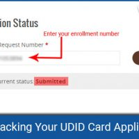 track udid card application status