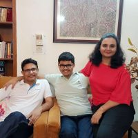 afroz ali and hena kausar with their son Ali Afroz