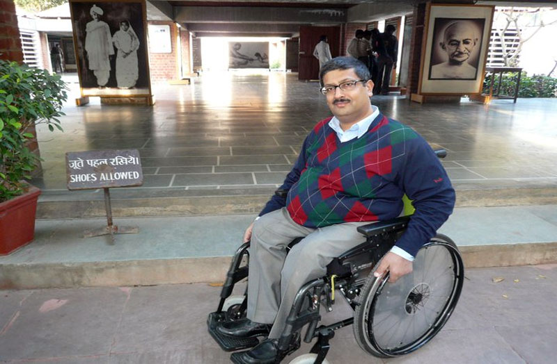 javed abidi famous disabled people