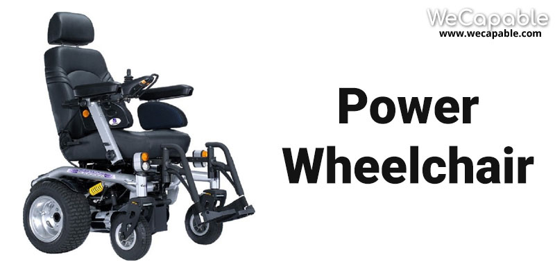 types of wheelchair: powerchair