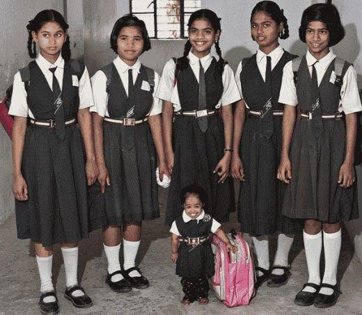jyoti amge: world's shortest woman