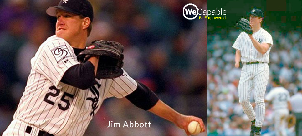Jim Abbott: disabled athlete who competed olympics