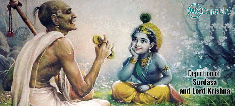 depiction of surdasa: disabled people in indian mythology