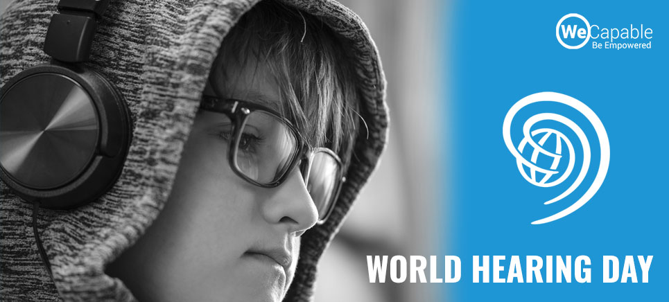 world hearing day banner