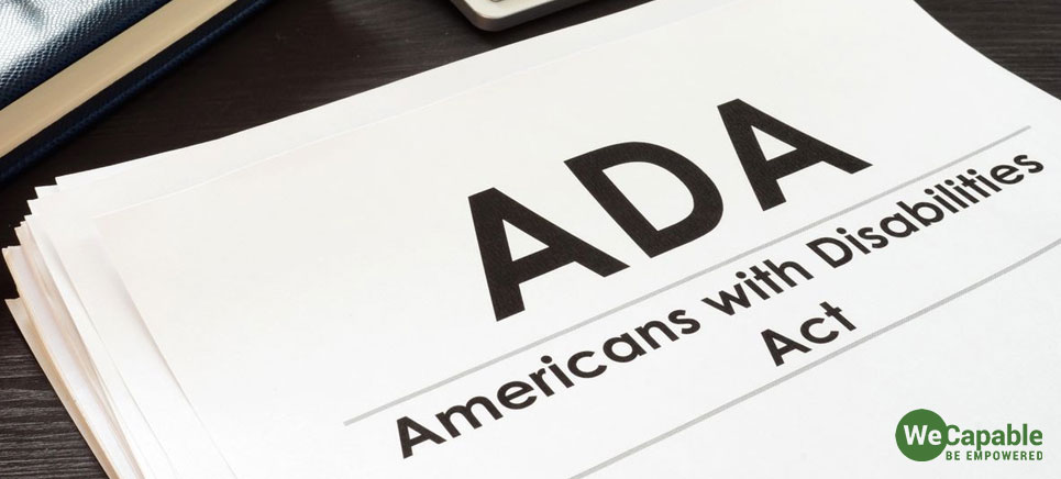 document of americans with disabilities act (ada)