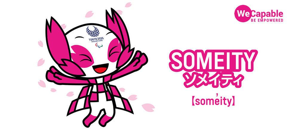 someity - mascot of Tokyo 2020 Summer Paralympic Games