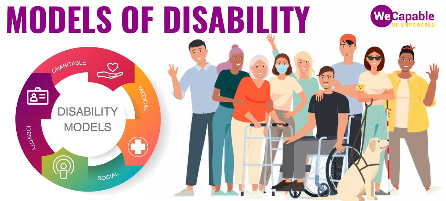 feature image for various disability models