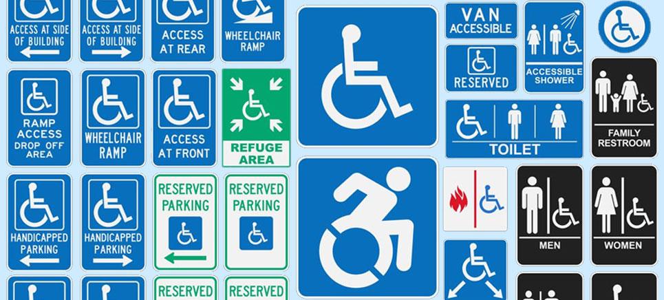usage of wheelchair symbol